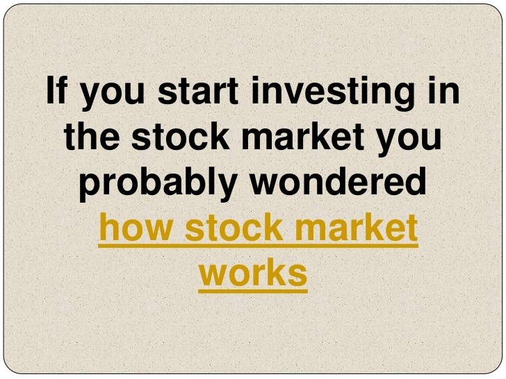 How options work in stock market