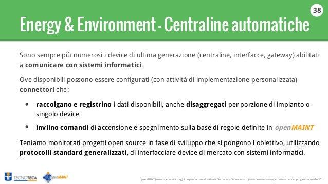 Slide openmaint italiano - Gateway immobiliare ...