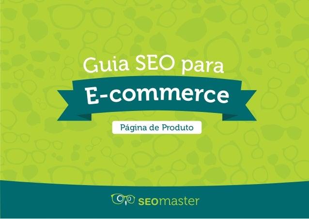 E-commerce Guia SEO para Página de Produto