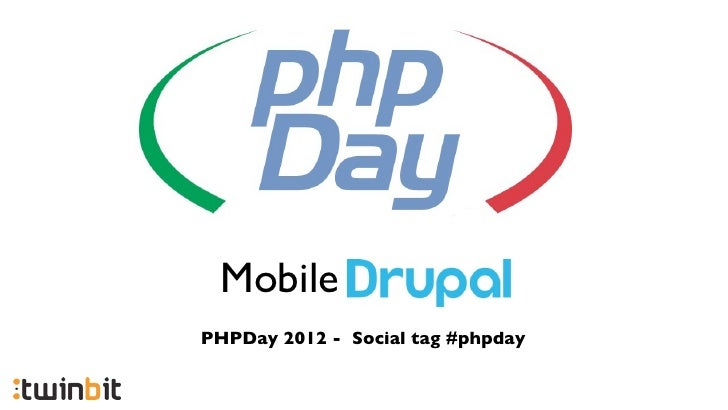 MobilePHPDay 2012 - Social tag #phpday