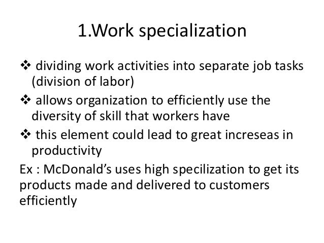 mcdonalds work specialization Lyle mcdonald generic bulking routine - faq  specialization,  21 how would a basic cycle with run-up, progression and deload look like  do i have to do.