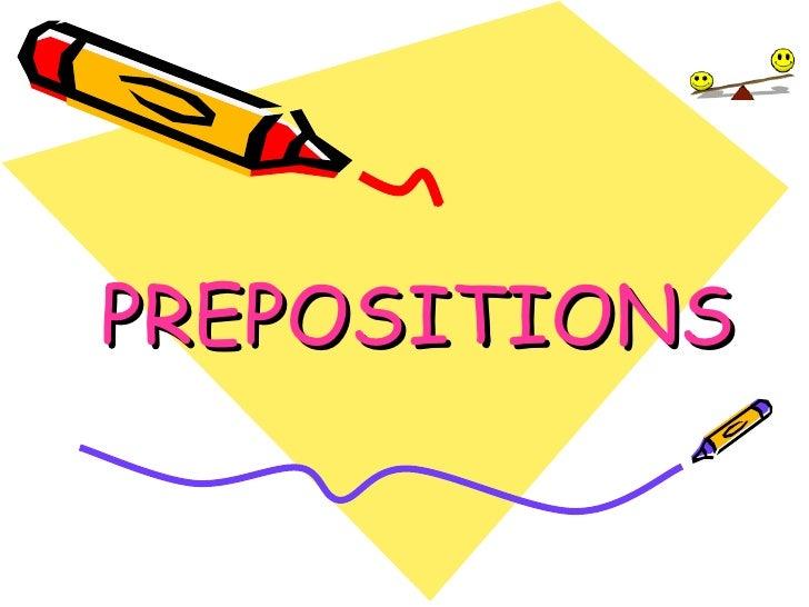 preposition powerpoint presentation