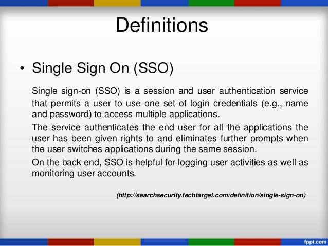 Implementation of Single Sign On (SSO) Technology Using SAML