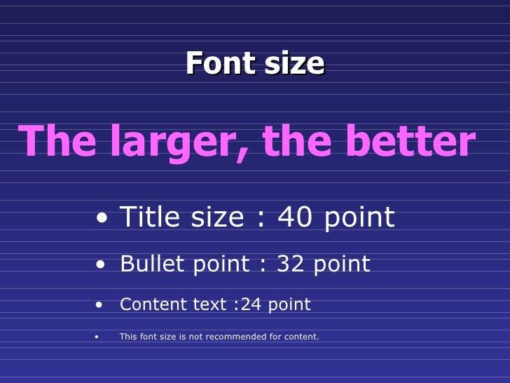 Slide presentation guidelines 11 toneelgroepblik Gallery