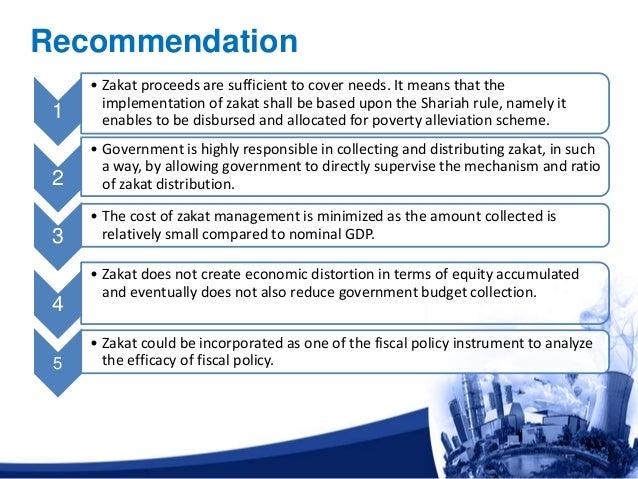 It Recommendation: Slide Presentation 2 At International Zakat Conference 2011