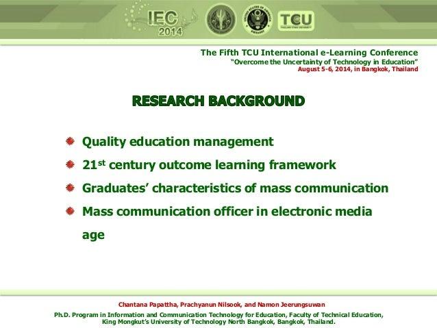 Six characteristics of mass communication