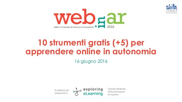 10 strumenti gratis (+5) per apprendere online in autonomia 16 giugno 2016