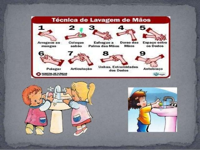 Slide projeto higiene educação infantil Slide 3