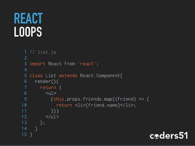 Workshop React js