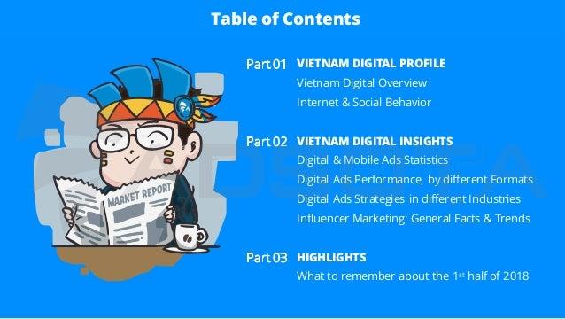 Vietnam Digital Advertising Report (H1, 2018) Slide 2