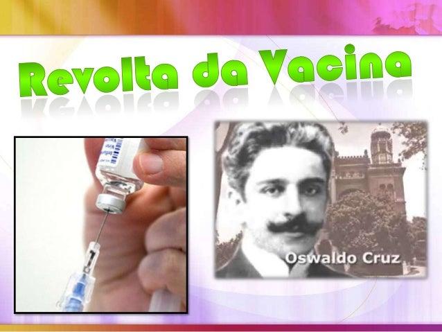 O início do período republicado da História do Brasil foimarcado por vários conflitos e revoltas populares. O Riode Janeir...