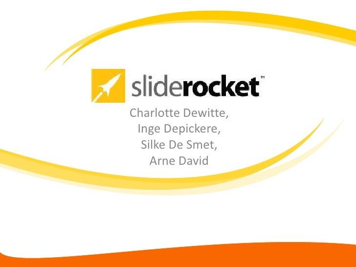 Charlotte Dewitte, Inge Depickere,  Silke De Smet,    Arne David