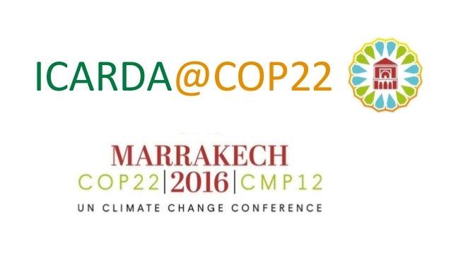 ICARDA@COP22