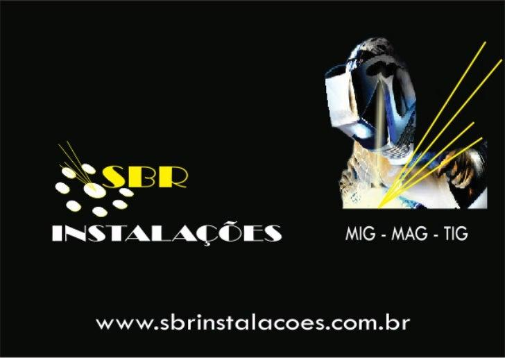 SBR instalacoes