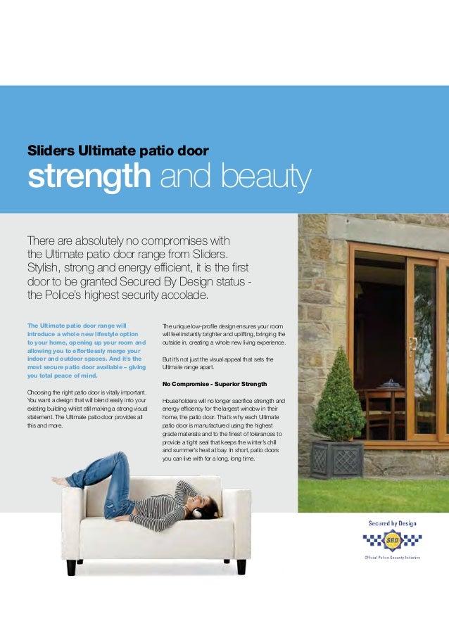 Sliders Patio Door Brochure