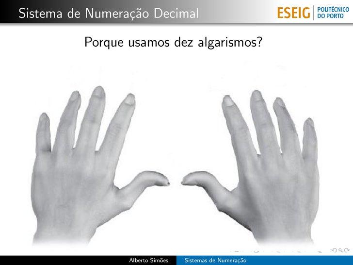 Sistemas de Numeração Slide 3