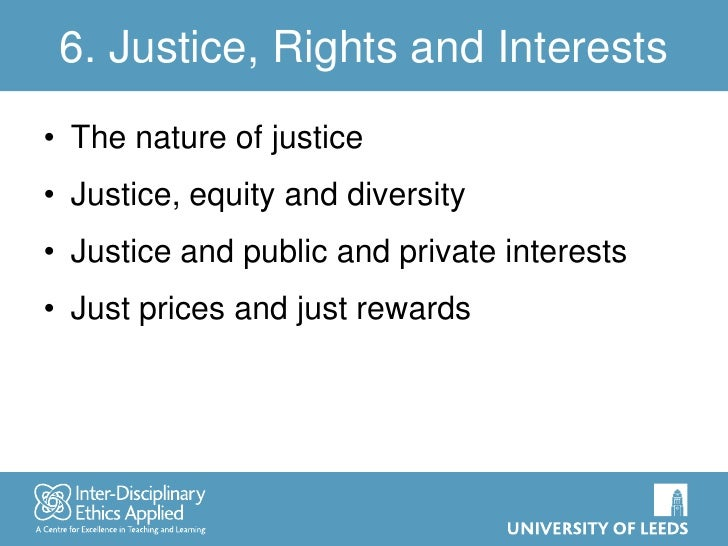 ethics of right and justice Sorting right from wrong ethics are the standard of what is right and wrong fairness or justice.