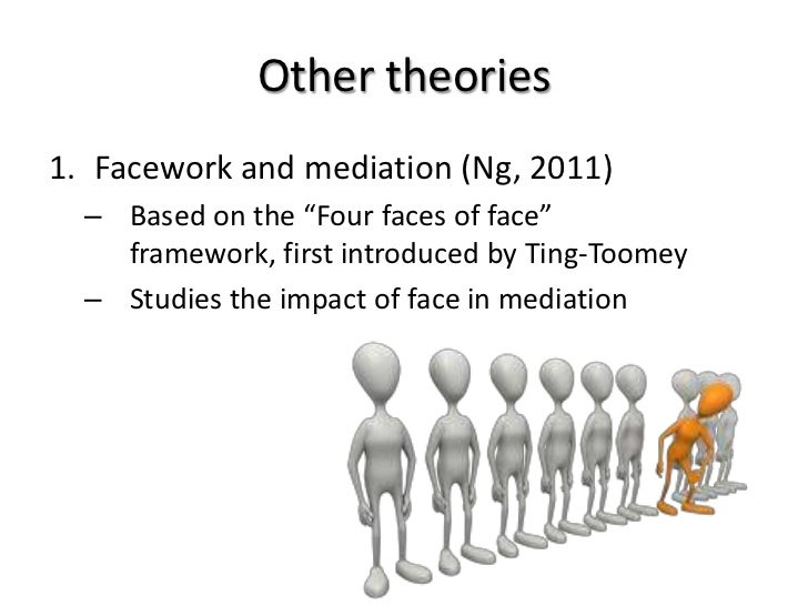 concept of face and facework Face defined positive social value person claims self-image in terms of  approved social attributes face-work in encounters face is located.