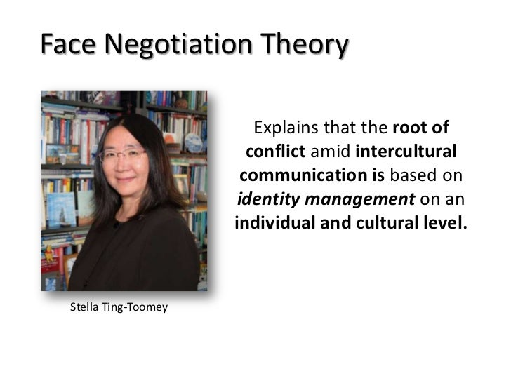 an analysis of the face negotiation theory Better results the most significant advantage of negotiating face-to-face is an increased likelihood for a mutually beneficial resolution when negotiators take the time to make negotiating a priority, they show commitment to finding an agreeable resolution.
