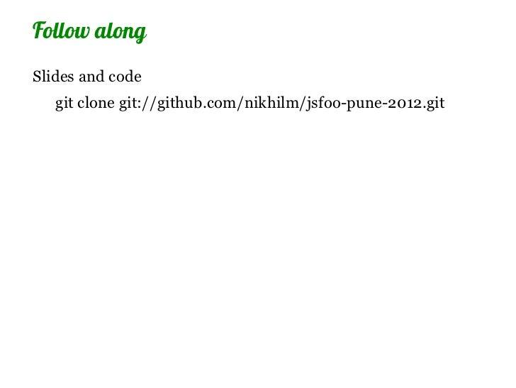 Writing native bindings to node.js in C++ Slide 3