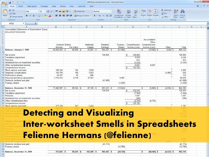 Detecting and VisualizingInter-worksheet Smells in SpreadsheetsFelienne Hermans (@felienne)