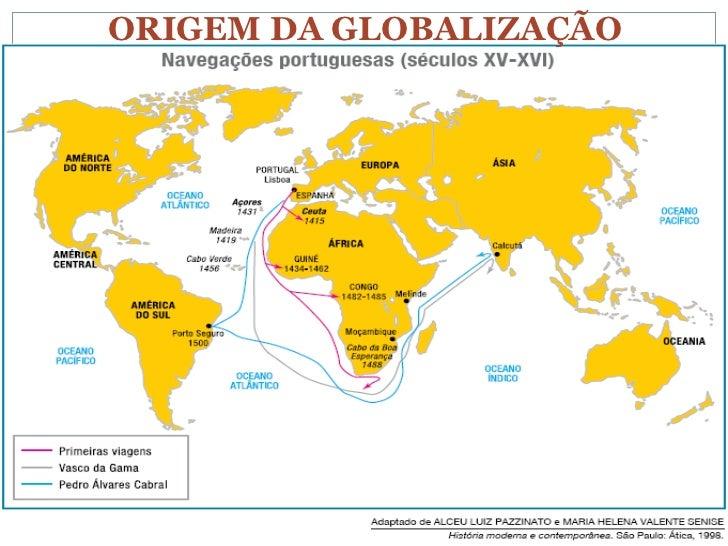 Resultado de imagem para A origem da Globalização