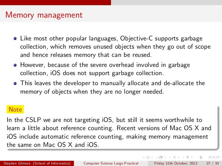 Crash Course in Objective-C