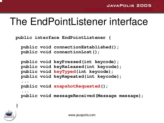 Bluetooth remote interface for Java ME