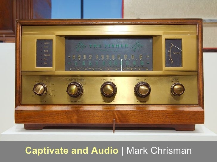 Captivate and Audio  | Mark Chrisman