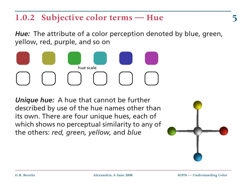 color perception essay When something effects our senses of sight, sound, color or taste in a big way, we pay attention or become attracted to essays factors that influence perception.