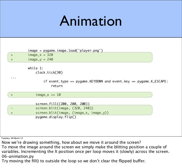 Introduction to Game Programming