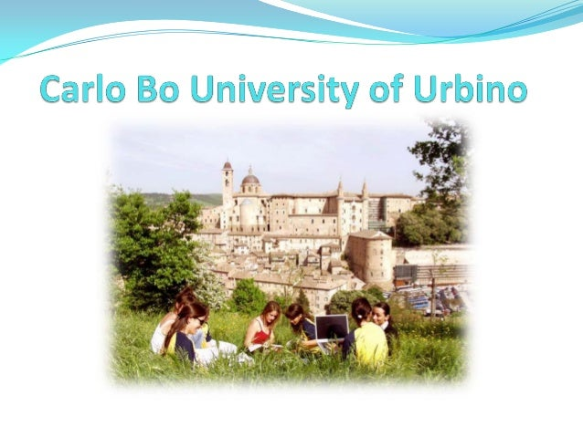 Urbino is located in the Marche Region, in Central Italy