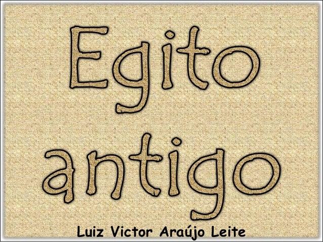 Luiz Victor Araújo Leite