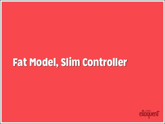 SLIM CONTROLLER  • Inicialização • Rendering/redirect      def  create           @user  =  User.new(pa...