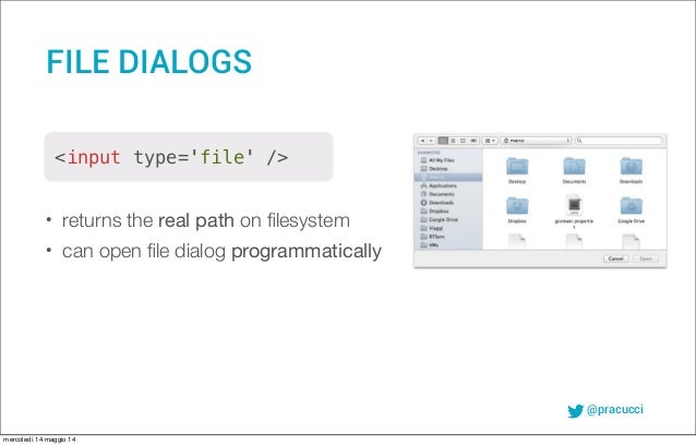 Building native desktop applications with node-webkit