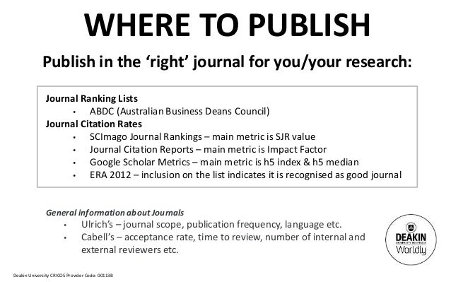 Cabell journal ranking