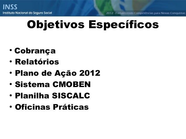 Tic inss for Oficinas inss
