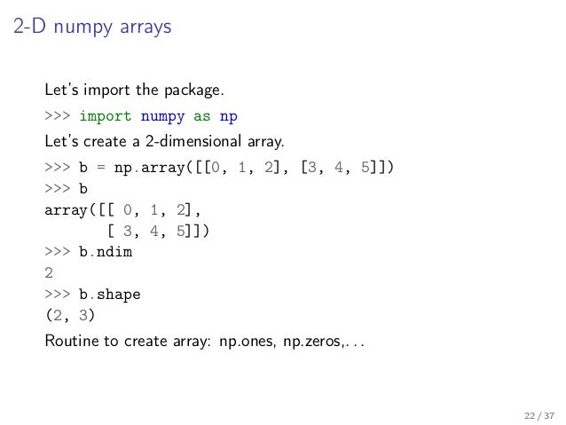 Write array to file python numpy