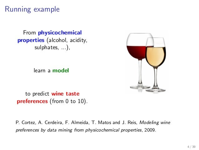 data mining to model wine preferences Title: modeling wine preferences by data mining from physicochemical properties background: vinho verde is a portuguese wine from the minho region in the far north of the country the name literally means green wine (red or white), referring to its youthful freshness that leads to a very slight green color on the edges of the wine.