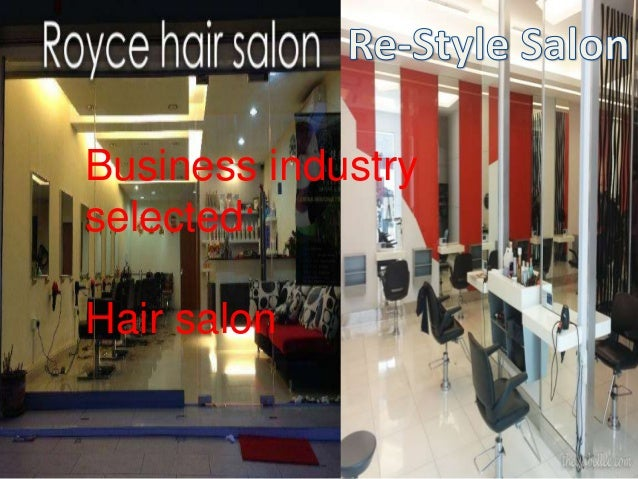 Business industry  selected:  Hair salon