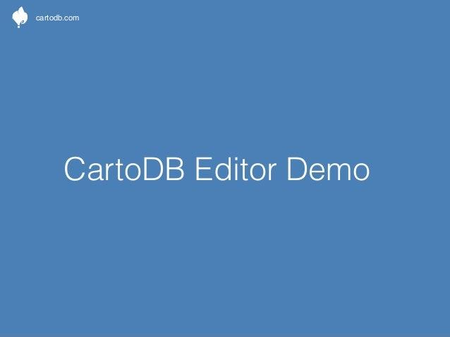 cartodb.com  CartoDB documentation