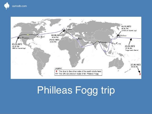cartodb.com  Philleas Fogg trip