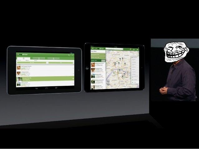 Адаптація дизайну мобільного додатку для планшету Slide 3