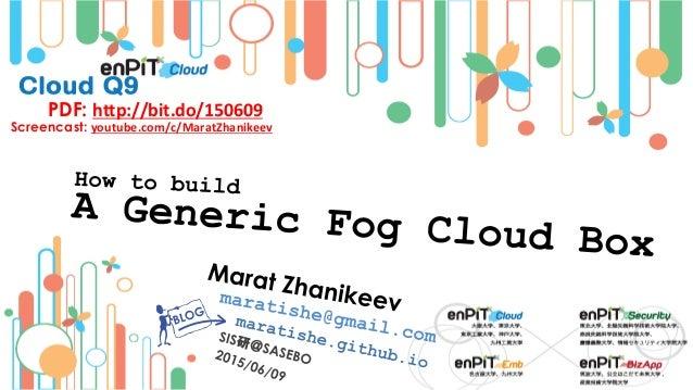 PDF: http://bit.do/150609 Screencast: youtube.com/c/MaratZhanikeev