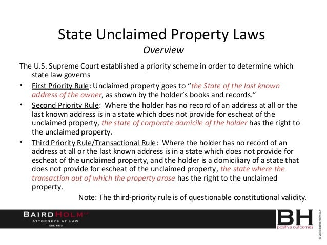 Gift Cards And Unclaimed Property Laws