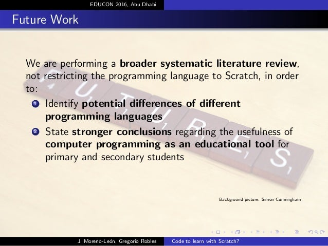 a research on computer languages Language of research learning about research is a lot like learning about anything else to start, you need to learn the jargon people use.