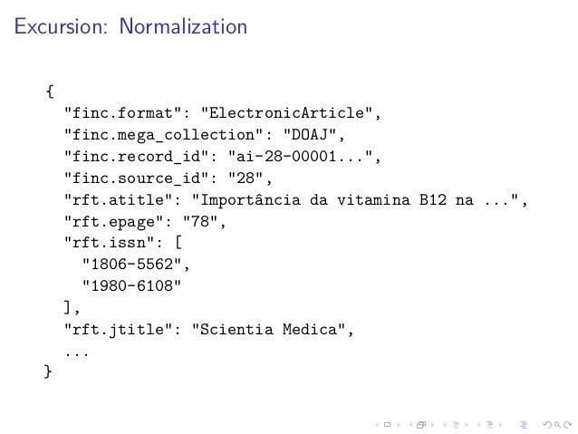 "Excursion: Normalization { ""finc.format"": ""ElectronicArticle"", ""finc.mega_collection"": ""DOAJ"", ""finc.record_id"": ""ai-28-00..."