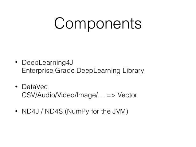 Intro to DeepLearning4J on ApacheSpark SDS DL Workshop 16 Slide 3
