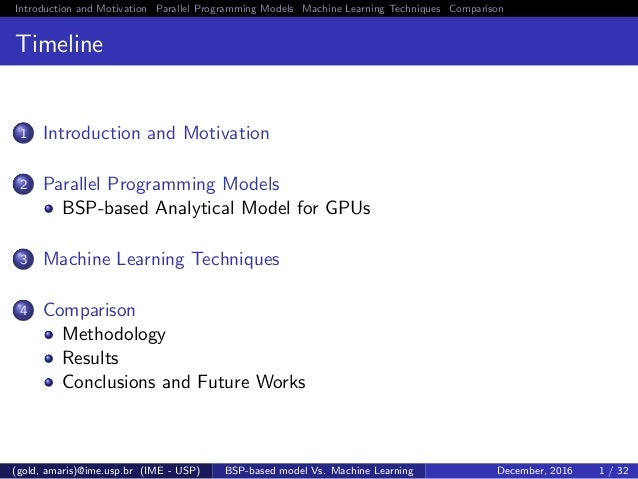 SlidesA Comparison of GPU Execution Time Prediction using Machine Learning and Analytical Modeling Slide 2