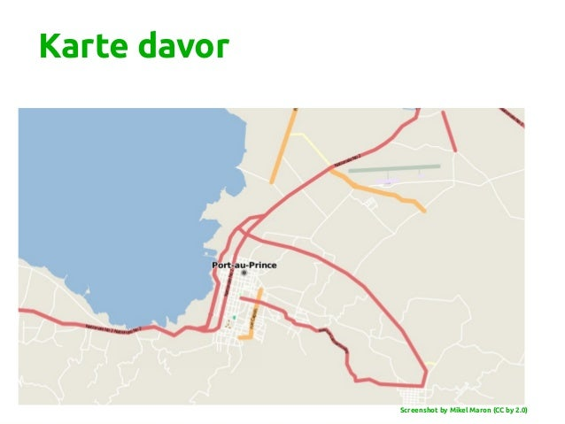 Karte davor Screenshot by Mikel Maron (CC by 2.0)
